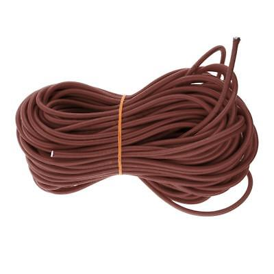 6mm x 20m Bungee Cord Elastic Shock Cord Rope Tie Down for Marine Kayak Boat