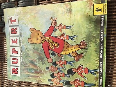 Rupert Adventure Series No 50 From 50's & 60's Rare Comic