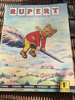 Rupert Adventure Series No 49 From 50's & 60's Rare Comic