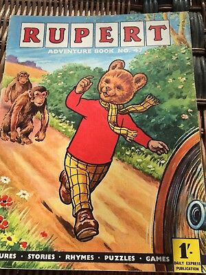 Rupert Adventure Series No 47 From 50's & 60's Rare Comic