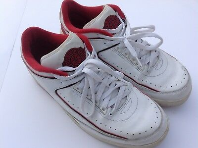 cheap for discount 8c113 0ff4b Vintage NIKE AIR JORDAN 2 II Shoes AJ Sneakers RETRO 2004 REISSUE size 11.5  US