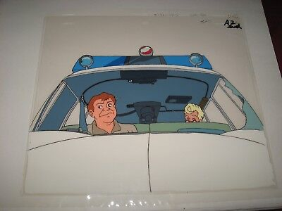 The Real Ghostbusters Original Production Cel