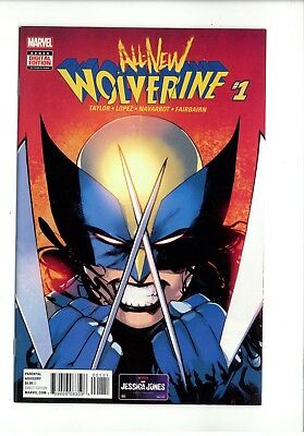 Wolverine # 1 Nm. Marvel. All New All Different. Jan 2016. First Print