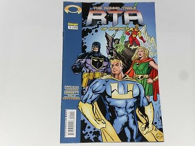 R.t.a. Round Table Of America #1 February 2004 Image Comics