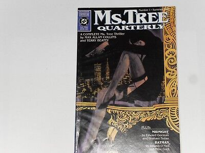 Ms. TREE QUARTERLY  #1  SUMMER 1990  DC COMICS  80 PAGES  WITH TEXT BATMAN STORY