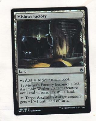 5x Mishra/'s Factory 242//249 Near Mint MTG Eternal Masters EMA