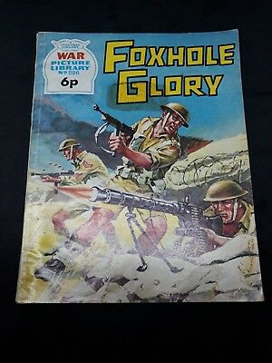 War Picture Library #886 Fleetway Comic Book (1973)