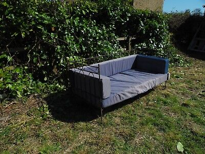 Vintage Metal French Day Bed