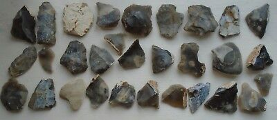 Assorted Prehistoric East Kent Flint Hand Tools Bulk Lot