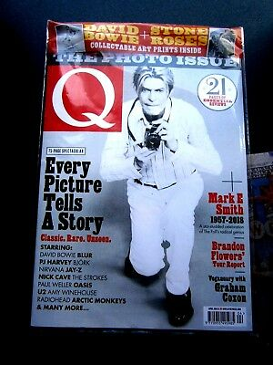 Q Magazine April 2018 (new) With  Free Prints