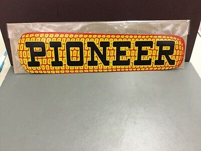 "VINTAGE PIONEER SEED SIGN FROM THE 1940's 14"" METAL SIGN (J.V. Patten Company)"