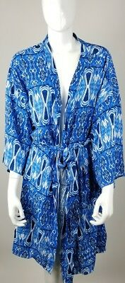 Pink blush Maternity Delivery Robe Sleep Blue NWT  XL