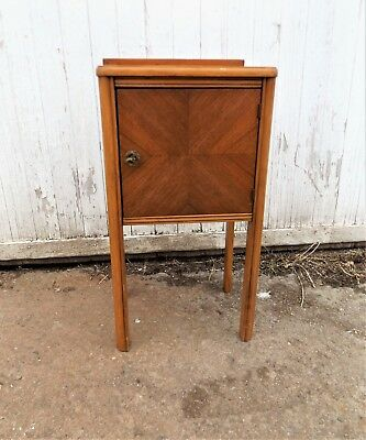 Vintage Small End table Night Telephone Stand, Beautiful Little Accent Table