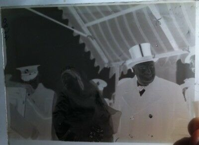 Historical Image On Glass Negative Plate