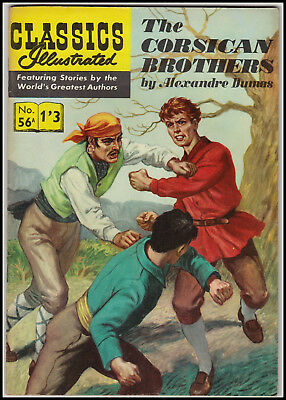 Vintage British Classics Illustrated:CORSICAN BROTHERS/DUMAS  No. 56A 1/3 HRN141