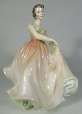 "Vintage Royal Doulton Bone China Figurine 7.5"" ""The Polka"" #HN2156"