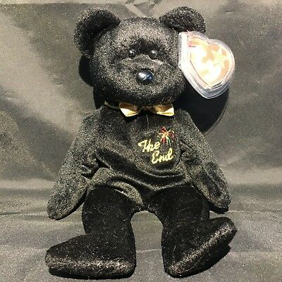 Beanbag Plush * TY Beanie Babies * The End * With Tag