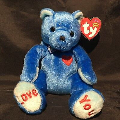 Beanbag Plush * TY Beanie Babies *Dad-E * With Tag