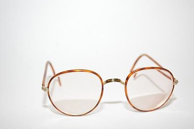 Antique Windsor Style Tortoise Eyeglasses Lawyer Style 1930s