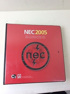 NFPA 70 2005 NEC Codebook Binder With Supplementary Changes Book Nice!