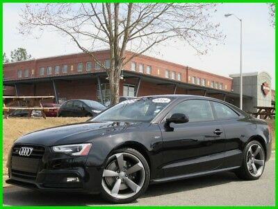 Audi S5 V6 SUPERCHARGED AWD BLUETOOTH BACK UP CAMERA NAVIGATION SUNROOF 2014 AUDI S5 AWD PREMIUM PLUS COUPE CLEAN CARFAX WE FINANCE & TRADE