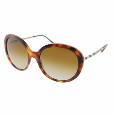 b2621ddf7 Burberry BE4239Q 3316T5 Light Havana Plastic Sunglasses Brown Shaded  Polarized