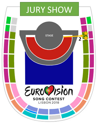 Eurovision 2018 - ONE TICKET - Entrada Grand Final Family Show 12 May -SECTOR 16