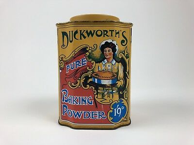 Replica Duckwoth's Pure Baking Powder Replicans Bedford England