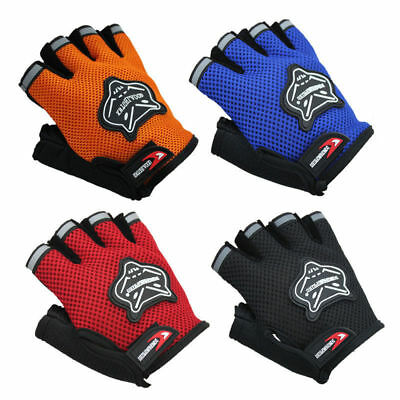 Road Mountain Bicycle Cycling Short Half Finger Gloves Men Women Gym Fingerless