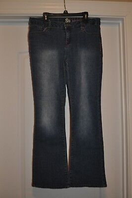 Girl's So Boot cut Jeans Adjustable Waist Size 14 1/2