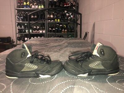 f179c2f08fff9e Nike Air Jordan 5 V Retro BP GS Boys Youth Basketball Shoes Size 2.5Y Black