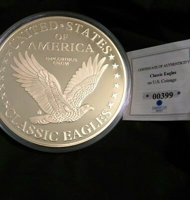 1849 Liberty Head Double Eagle American Mint Classic Eagles w Certificate, 2016