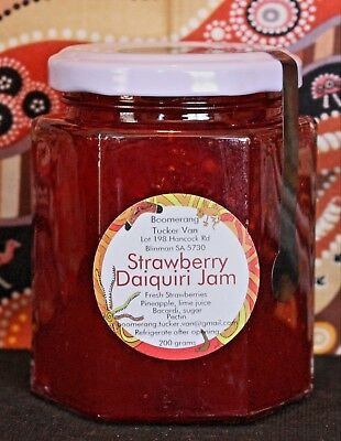 STRAWBERRY DAIQUIRI JAM special limited edition 200g, yummo!