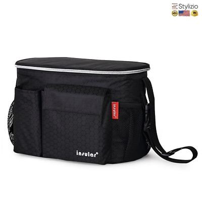 Thermal Insulation Baby Diaper Bags For Strollers Waterproof Nappy Changing Momm