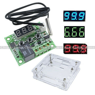-50~110°C W1209 DC 12V Digital Thermostat Temperature Control Switch Sensor