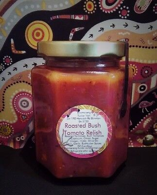 ROASTED BUSH TOMATO RELISH, BUSH TUCKER, Delicious new product!