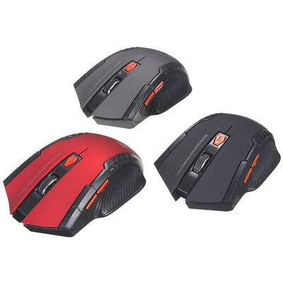 2.4GHz Optical Wireless Mouse Mini Gaming Mice with USB Receiver for PC Laptop