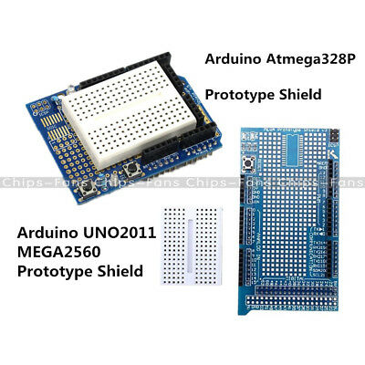 MEGA2560 UNO Prototype With Mini Shield ProtoShield V3 Breadboard For Arduino