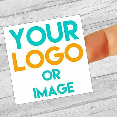 Custom Labels/stickers Logo 60mm Square Personalised Business/Company Name