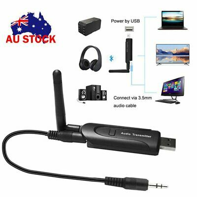 USB Bluetooth V4.1 Wireless A2DP Audio Transmitter Stereo Adapter for TV PC DVD