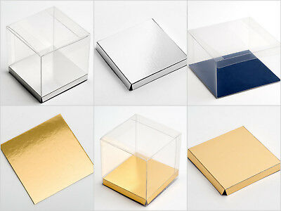 Platforms & Liners - Pack of 10 -  For Clear Wedding Transparent Boxes