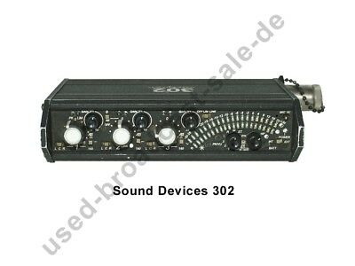 Sound Devices 302 - Portabler Audio Mixer