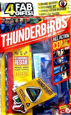 Thunderbirds Are Go Magazine Issue #11 ~ Brand New Sealed Pack With Gifts ~