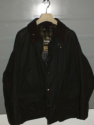 barbour bedale jacket waxed cotton  green 100%authentic c46/117 XL