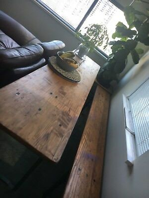 Genuine Belgian Beer Table With 2 X Benches