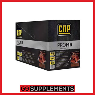 CNP Professional Pro MR High Protein Meal Replacement Shake Low Carb 20 Sachets