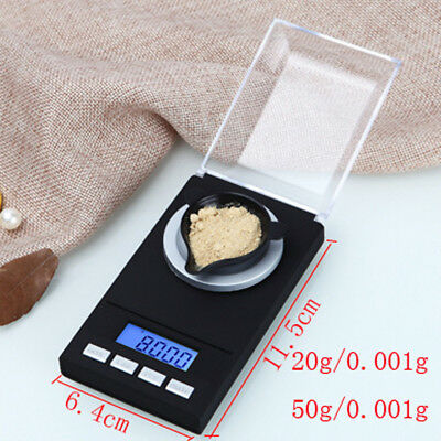 Jewellery Digital Jewelry Scale Lcd Weight Portable 0.001g Mini Gram Balance