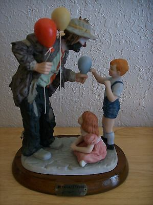 "Emmett Kelly JR. ""Making New Friends"" Figurine"