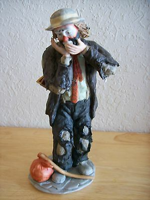 "Emmett Kelly JR. ""The Toothache"" Figurine"