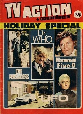 Countdown And Tv Action Comics On Disc Doctor Who Ufo Hawaii Five-0 Persuaders